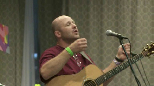 """<b>music: """"How Could Anyone"""" from DAYLE 2009</b></br> - features scenes from the closing worship of DAYLE, the Definitely Abled Youth Leadership Event, in New Orleans. A pre-event to the ELCA Youth Gathering, DAYLE brings together young leaders with a wide range of physical and cognitive differences. </br> The song entitled, """"How Could Anyone"""" is performed by Dakota Road and written by Libby Roderick. Video by Brett Nelson."""