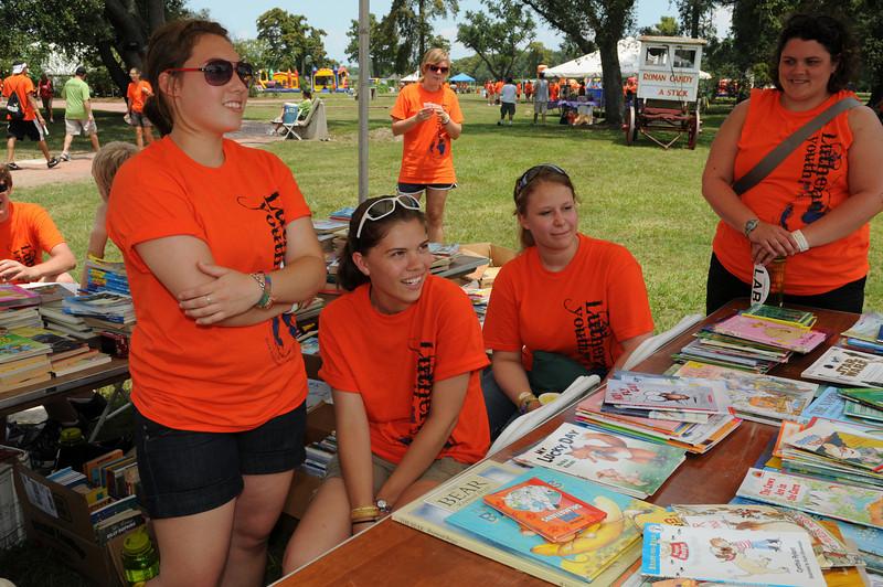 service project - community health fair