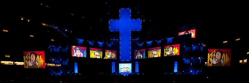 "Saturday evening program at the Superdome.  copyright © 2009, Erik Mathre, <a href=""http://www.eventpixels.com"" target=_blank>EventPixels.com</a>, <a href=""mailto:erik@eventpixels.com"" target=_blank>erik@eventpixels.com</a>"