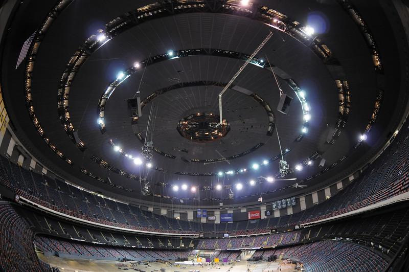 Dome setup