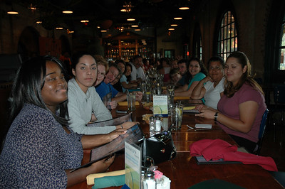 The Youth Gathering Staff meets over dinner to not only discuss the upcoming events, but to share some good times over great San Antonio food at Aldaco's in Sunset Station.