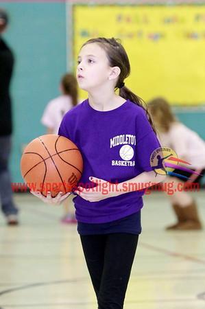 Middletown Girls 2nd/3rd Gr Basketball 2013