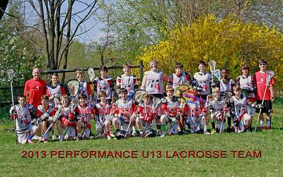 Performance U13 vs Club Blue Dun Youth Lacrosse 2013