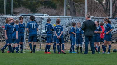1-13-2018 U14B vs  Clearwater Chargers SC-0118