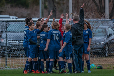1-13-2018 U14B vs  Clearwater Chargers SC-0126