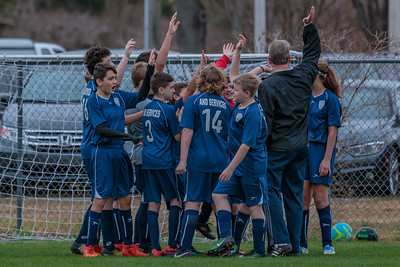 1-13-2018 U14B vs  Clearwater Chargers SC-0127