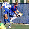 Players Club Max Renaldo protects Goal