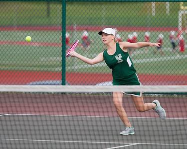 Fulton V Girls Tennis vs ESM 8-31-17