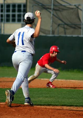 Dulles Sophmore Baseball Game 3-23-07