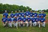 CNY Americans (blue) vs. Barrons Baseball (black) U18 CNY Thunder Classic Tournament game.