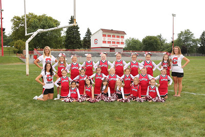 Little Clippers JV Cheer 2015