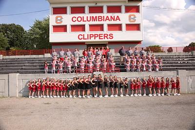 2017 Columbiana Football and Cheer