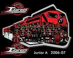 Walpole Express Jr A Team Pic 8x10