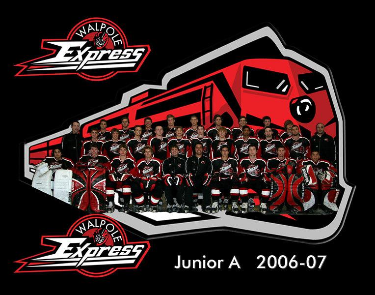 Walpole Express Jr a Team Pic 11x14