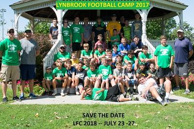 Lynbrook Football Camp 2017