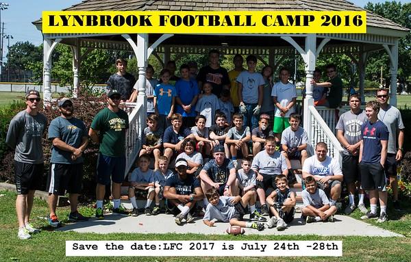 Lynbrook Football camp 2016