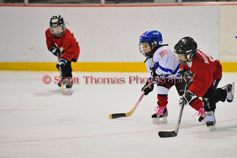 Mite Meltdown 2010. Game 16. Midstate C (Red) vs Oswego (White).