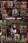 Poster of the team before the Quincy Game and all the Seniors with the playersin the background photo  Made for a 20x30 inch wall poster  $29.95