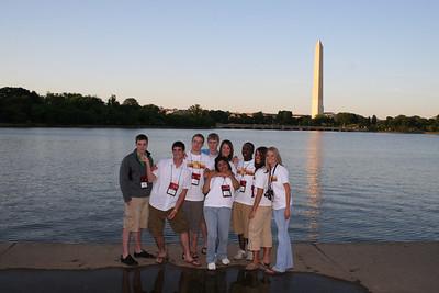 Vista of Washington Monument from FDR Memorial