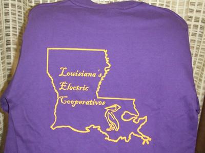 La. T-shirt Back
