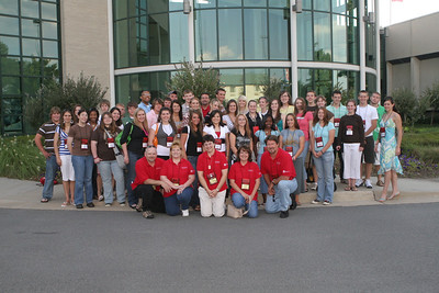 Group photo at Electric Cooperatives of Arkansas Headquarters in Little Rock