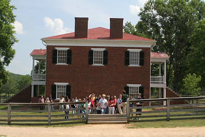 Appomattox, VA Courthouse. Site of the battle and end of the Civil War. Lee surrendered to Grant in 1865.