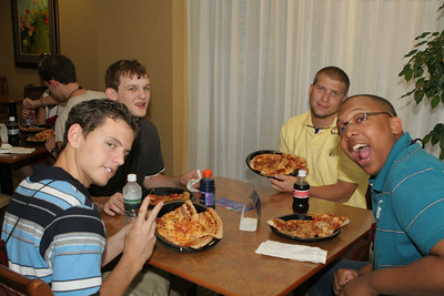 Pizza Party at Hampton Inn Knoxville, TN