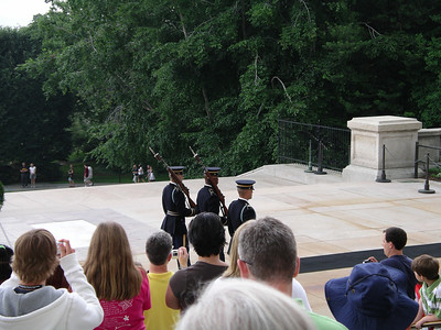 Arlington Cemetary - Changing of the Guard