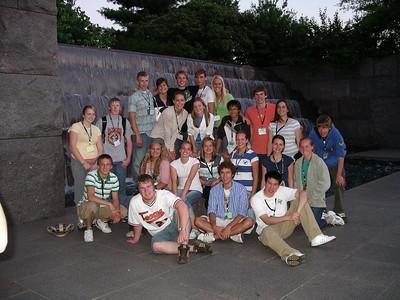 FDR Memorial - Minnesota Delegates