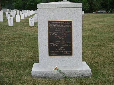 Arlington Cemetary - Iran Mission Hostage grave sight