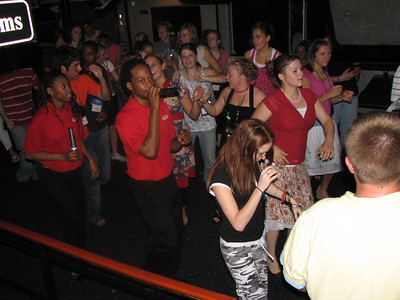 dancing on the cruise on the potomic