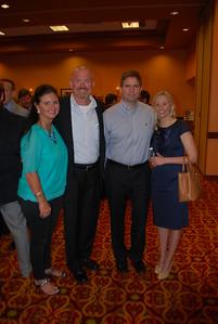 Kristy and Mark Jurik, Dan and Caroline Reeve