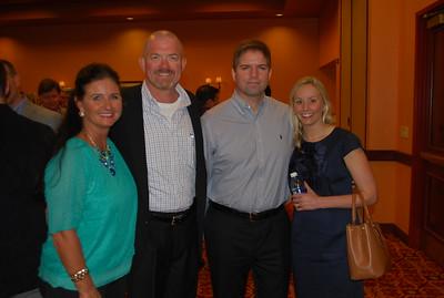 Kristy and Mark Jurik, Dan and Caroline Reeve 1