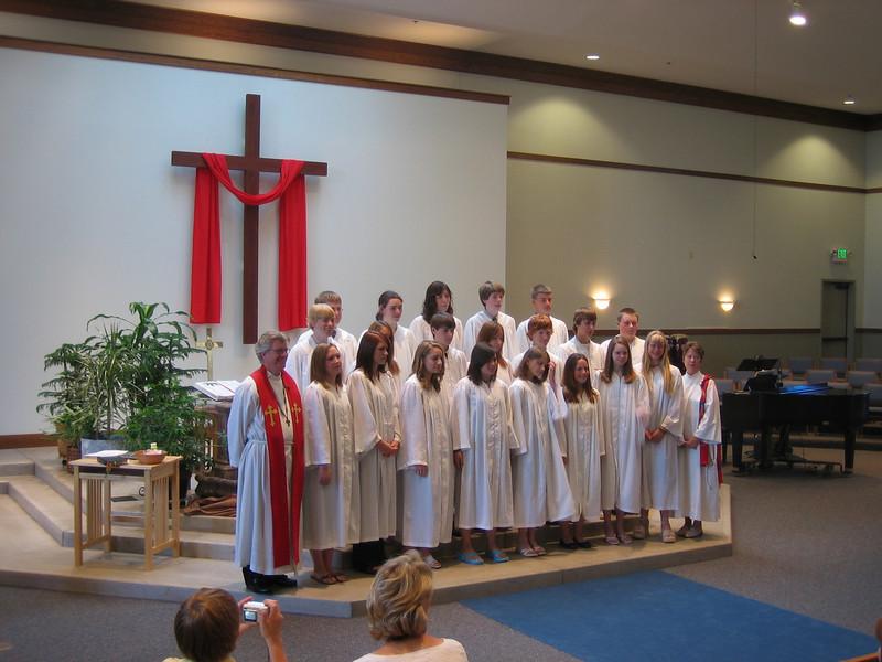 Confirmation Sunday 2006