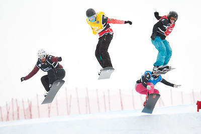 2012 FIS SBX Junior World Championships - Sierra Nevada, Spain