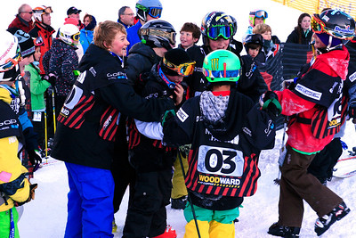 The North Face Junior Jam Visa U.S. Freeskiing Grand Prix at Copper Mountain, CO on December 9, 2011. Jen Desmond/USSA