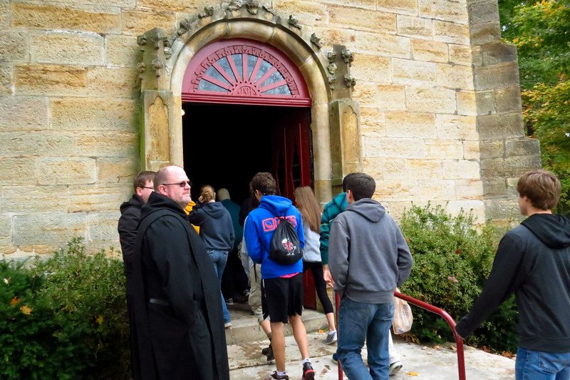 Pictures of the Benedictine Hills Pilgrimage sponsored by the Office of Monastic Vocations of Saint Meinrad Archabbey and the Monastery of the Immaculate Conception in Ferdinand.