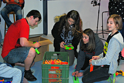 FBC Youth Nerf Gun Night  28 March 2014