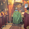 Celebration of the Divine Liturgy at the Holy Grotto in Bethlehem.