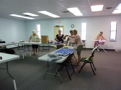 4H Sewing Camp 2015
