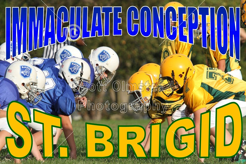 Sunday, September 25, 2011 - Immaculate Conception Rams versus St. Brigid Wolfhounds