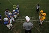 Team Captains and Coin Toss - Sunday, September 25, 2011 - Immaculate Conception Rams versus St. Brigid Wolfhounds