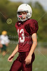 Pregame Warm-Ups - Tuesday, September 18, 2012 - Hamilton Township Rangers at Canal Winchester Indians - 8th Grade