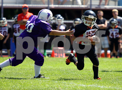 2013 Pee Wee Football Port Allegany @ Coudersport