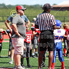 Team Captains and the Coin Toss - Utica Redskins at Lakewood Lancers - Sunday, September 2, 2018