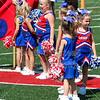 The Lakewood Lancers Take the Field - Utica Redskins at Lakewood Lancers - Sunday, September 2, 2018