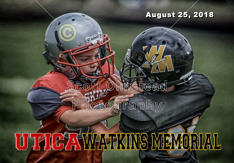 Watkins Memorial Warriors at Utica Redskins - Saturday, August 25, 2018