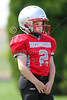 PreGame Warm-Ups - Granville Blue Aces at Utica Redskins - 3rd & 4th Grade Football - Sunday, September 3, 2017