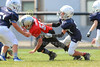 4th Quarter - Granville Blue Aces at Utica Redskins - 3rd & 4th Grade Football - Sunday, September 3, 2017