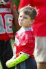 PreGame Warm-Ups - Granville Blue Aces at Utica Redskins - 3rd & 4th Grade Football - Sunday, September 3, 2017